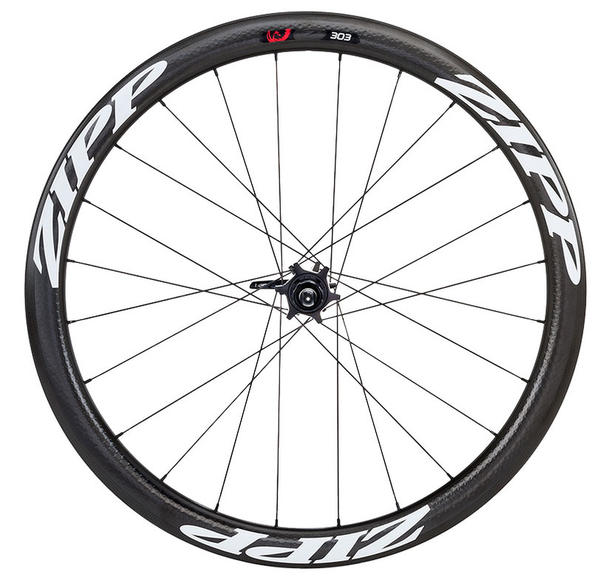 Zipp 303 Firecrest Carbon Disc Brake Rear Wheel (Clincher) Color: Matte White