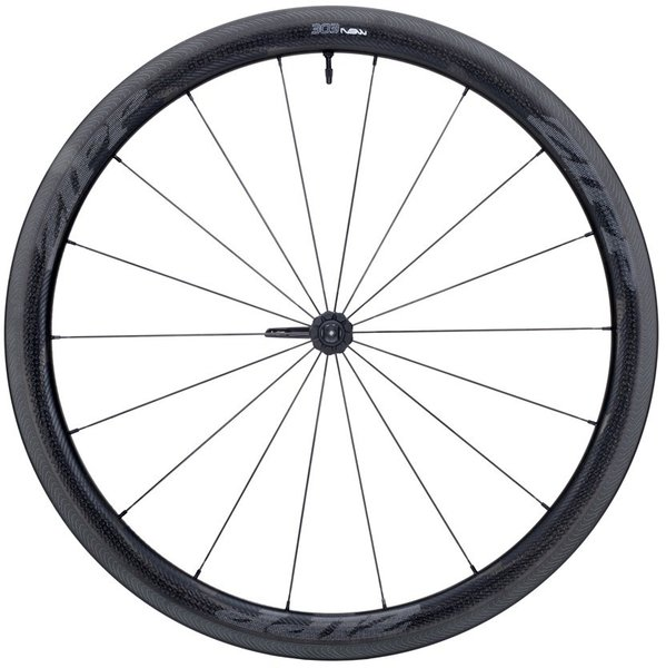 Zipp 303 NSW Carbon Clincher Tubeless Rim-Brake Front Wheel Color: Impress