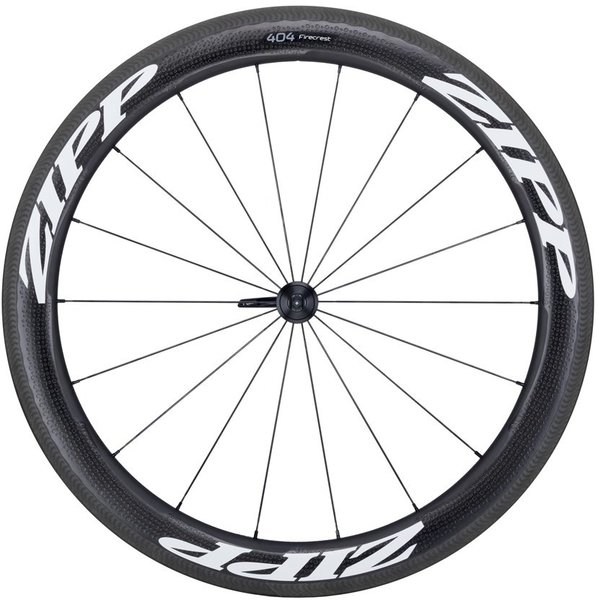 Zipp 404 Firecrest Carbon Clincher Handcycle Rim-Brake Front Wheel
