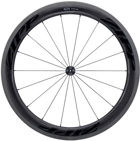 Zipp 404 Firecrest Carbon Clincher 77 Rim-Brake Front Wheel Color: Black