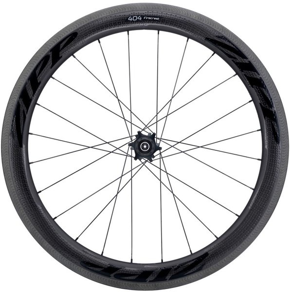 Zipp 404 Firecrest Carbon Clincher Rim-Brake Rear Wheel Color: Black