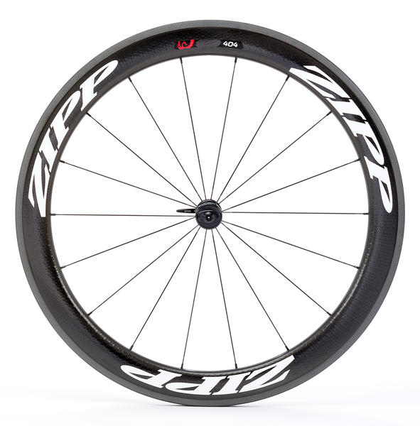 Zipp 404 Firecrest Carbon Front Wheel (Clincher) Color: White Decal