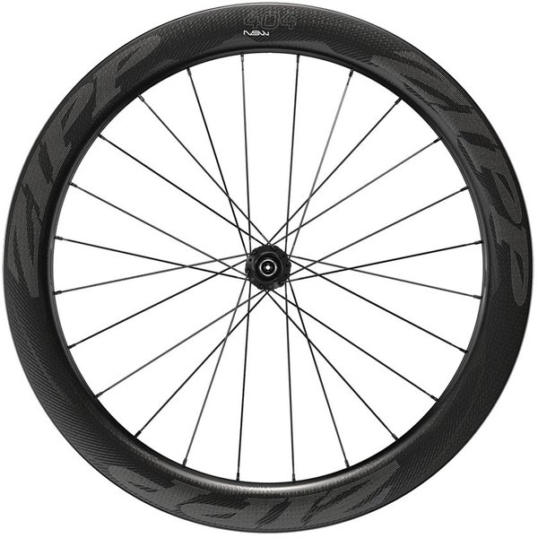 Zipp 404 NSW Carbon Clincher Tubeless Disc-Brake Front Wheel Color: Impress