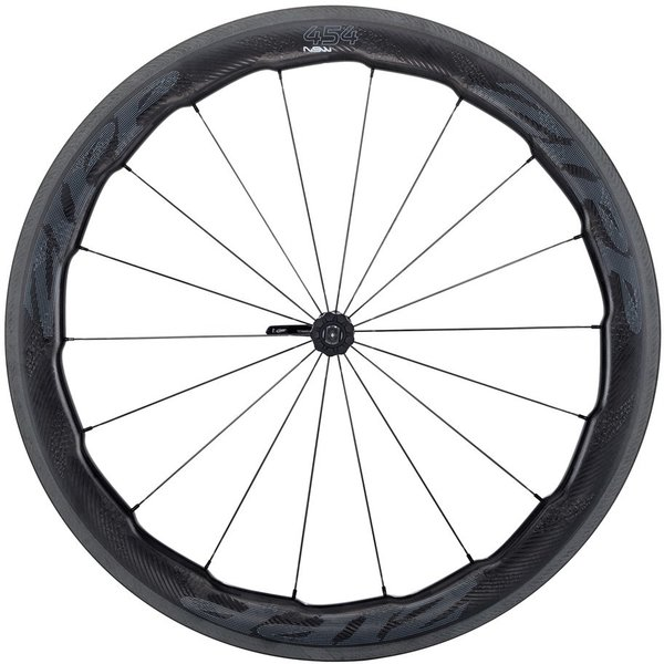 Zipp 454 NSW Carbon Clincher Rim-Brake Front Wheel Color: Impress