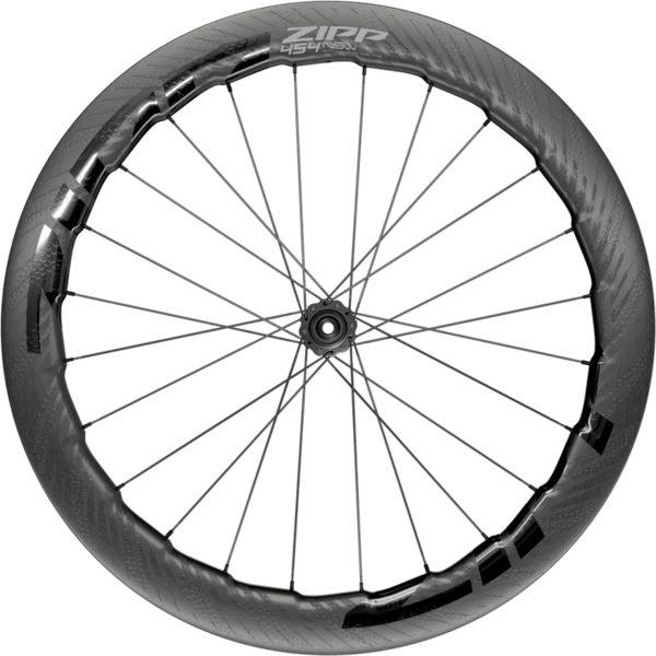 Zipp 454 NSW Carbon Tubeless Disc Brake Front Color: Black