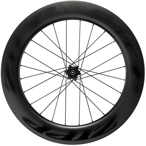 Zipp 808 Firecrest Carbon Clincher Tubeless Disc Brake 700c Rear Color: Black w/Black Decal