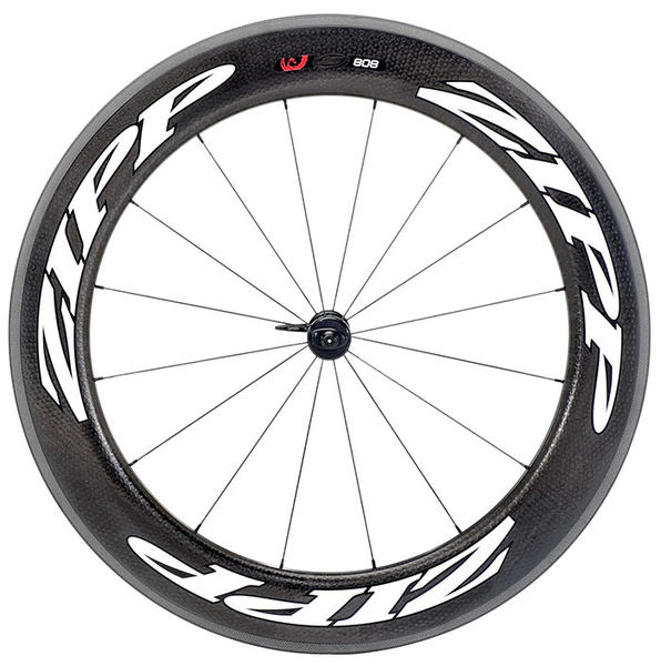 Zipp 808 Firecrest Carbon Front Wheel (Clincher) Color: Matte White