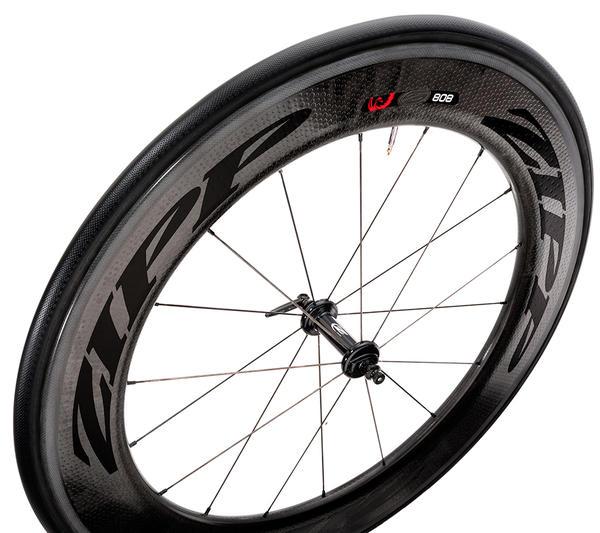 Zipp 808 Firecrest Front Wheel (Tubular)