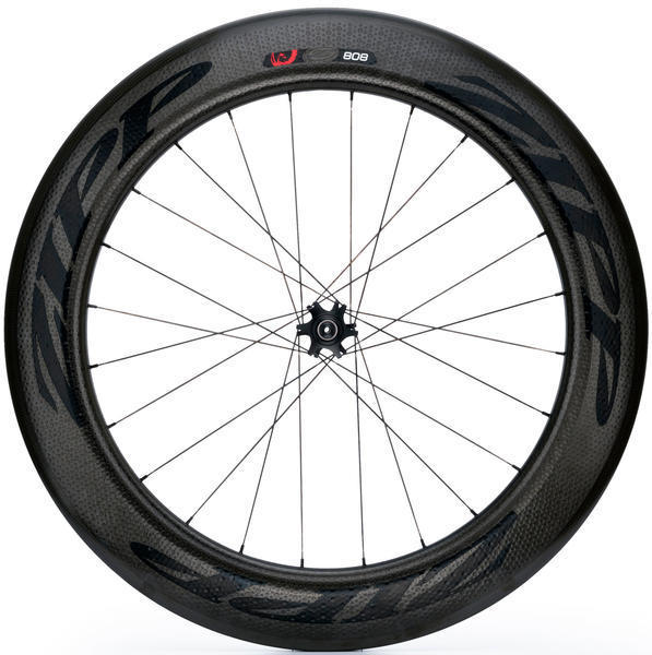 Zipp 808 Firecrest Tubular Disc Brake Wheel Image differs from actual product