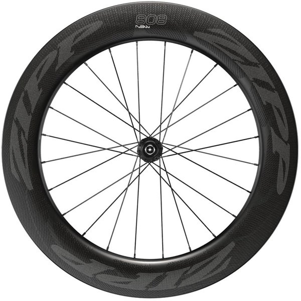 Zipp 808 NSW Carbon Clincher Tubeless Disc-Brake Front Wheels Color: Impress