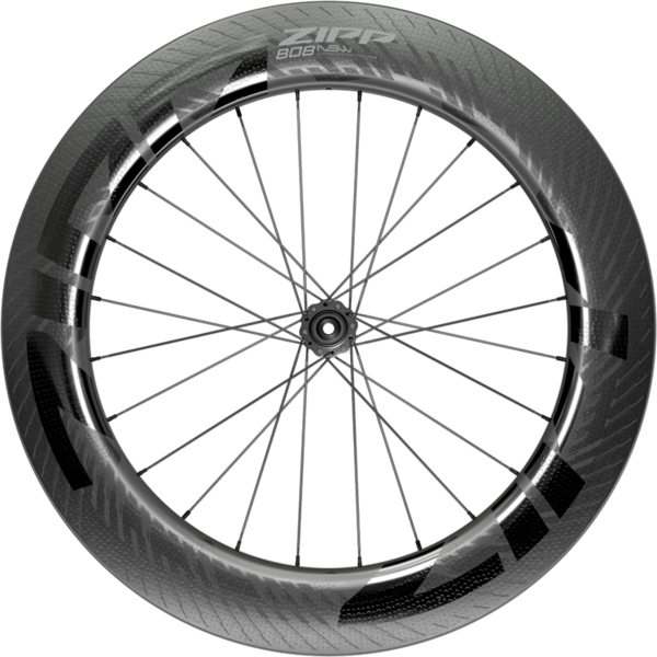 Zipp 808 NSW Carbon Tubeless Disc Brake Front Color: Black