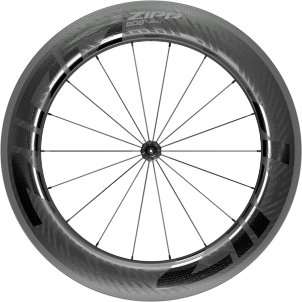 Zipp 808 NSW Carbon Tubeless Rim Brake Front Color: Black