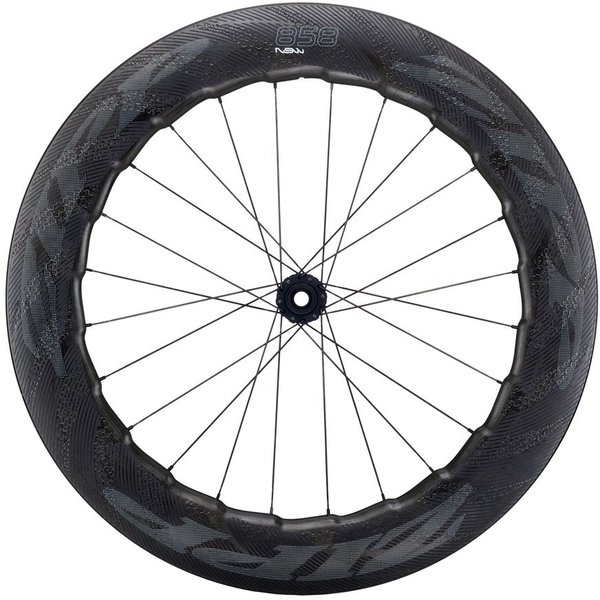 Zipp 858 NSW Carbon Clincher Cognition Disc-Brake Front Wheel