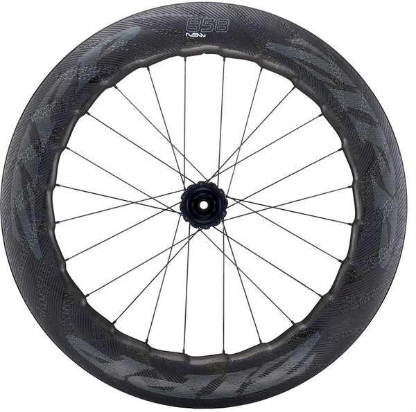 Zipp 858 NSW Carbon Clincher Cognition Disc-Brake Rear Wheel Color: Impress