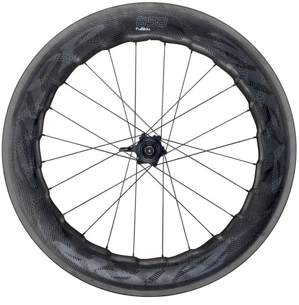 Zipp 858 NSW Carbon Clincher Cognition Rim-Brake Rear Wheel