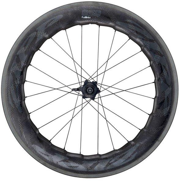 Zipp 858 NSW Carbon Clincher Cognition Rim-Brake Rear Wheel