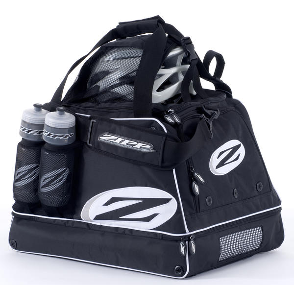Zipp Gear Bag Helmet and bottles sold separately.