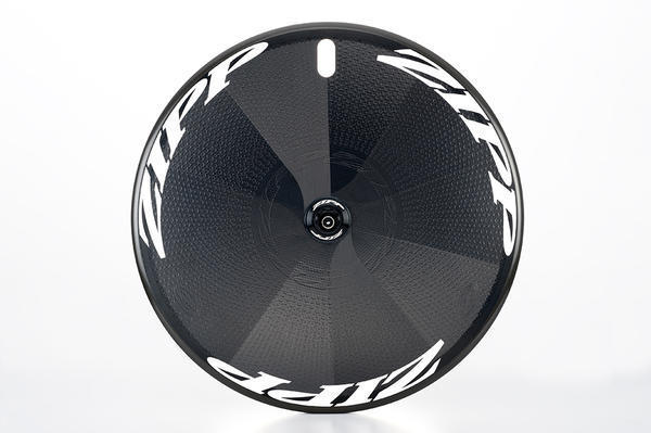 Zipp Super 9 Disc-Brake Carbon Clincher Disc Rear Wheel Color: White Decals