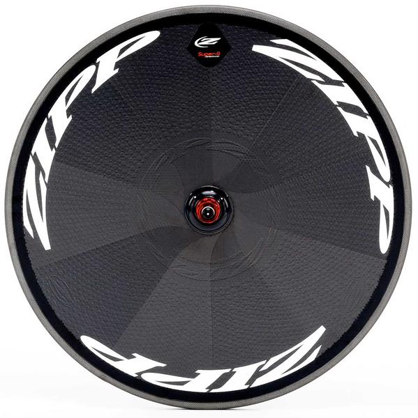 Zipp Super-9 Disc Carbon Rear Wheel (Tubular) Color: Matte White