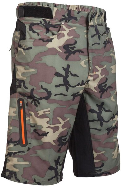 Zoic Ether Camo Shorts + Essential Liner
