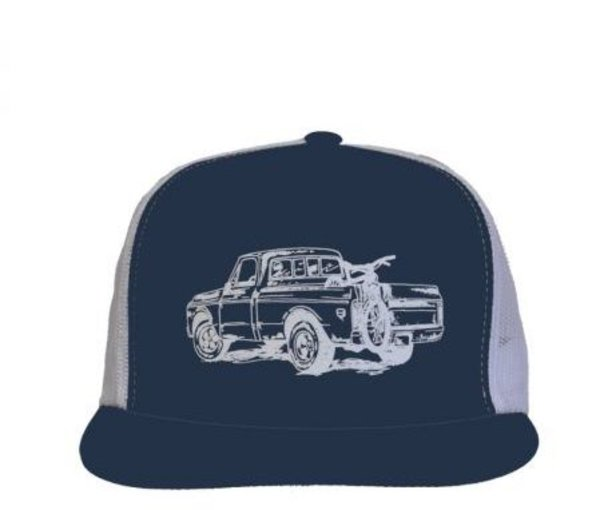 Zoic Truck Hat Color: Blue/White