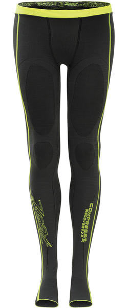 Zoot Recovery 2.0 CRx Tights Color: Graphite/Safety Yellow