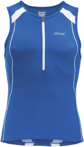 Zoot Performance Tri Tank Color: Zoot Blue/White