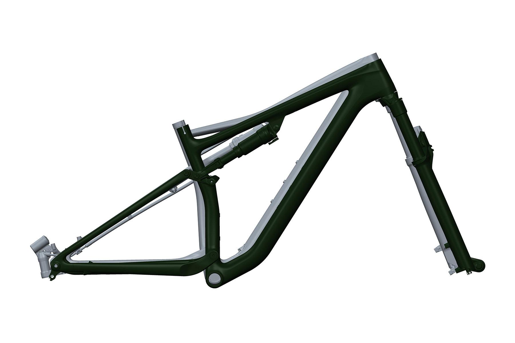 Specialized Evo geometry