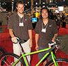 Niner founders Chris Sugai and Steve Domahidy.