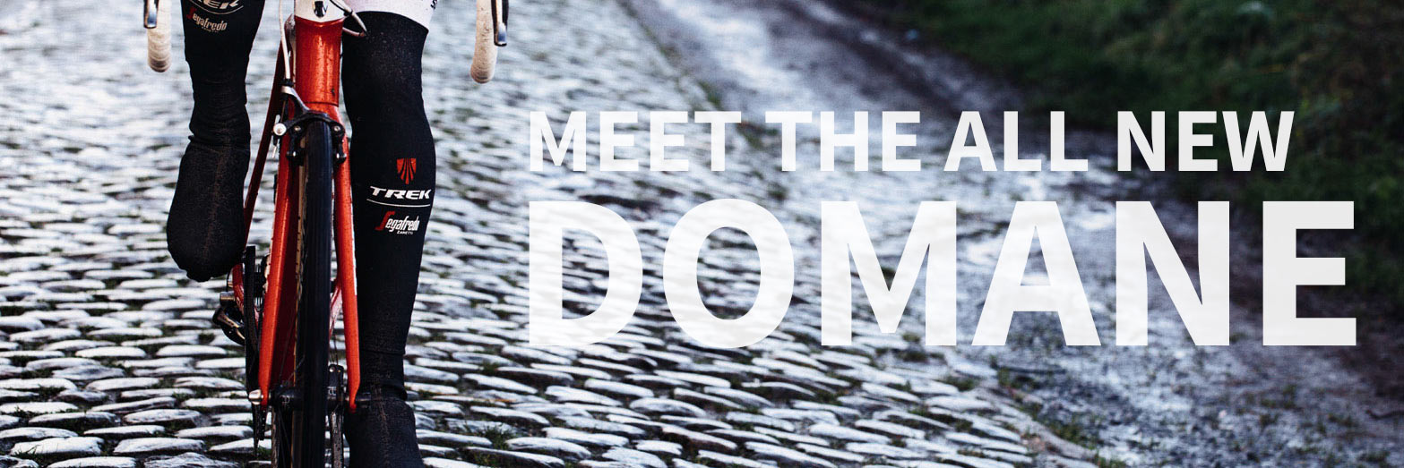 Trek's Domane is built for the cobbles.