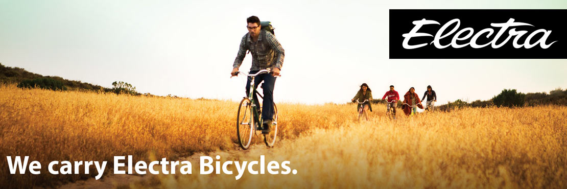We carry Electra bicycles.