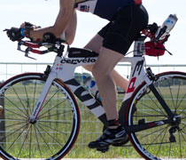 Tri bicycles boast wind-cheating designs for free speed!