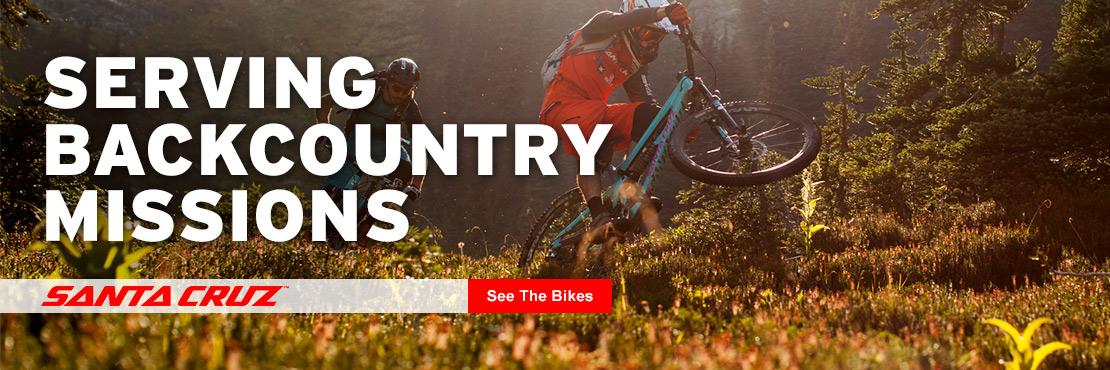 Shop Santa Cruz Bikes Today!