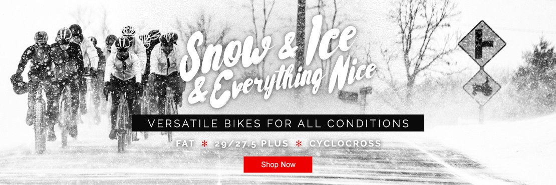 No matter the weather, you can have a bike that excels in it!