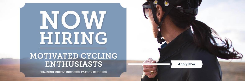 We're Hiring at Evolve Bicycles!