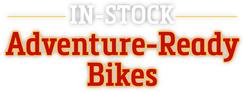 In-Stock Adventure-Ready Bikes