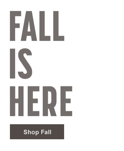 Fall is Here - Shop Fall