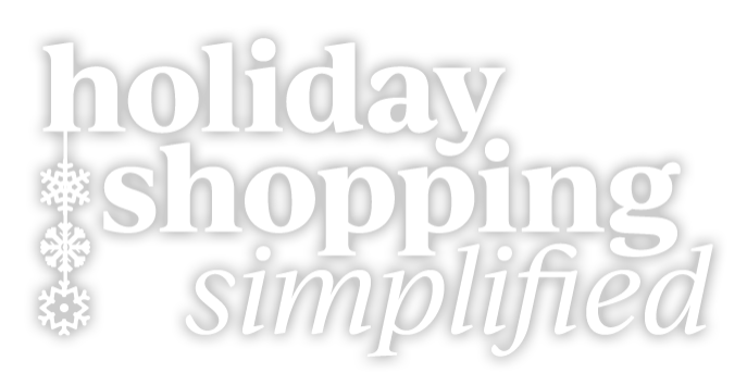 Holiday Shopping, Simplified