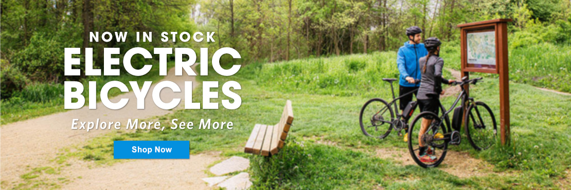 Get jump started and shop E-Bikes now!