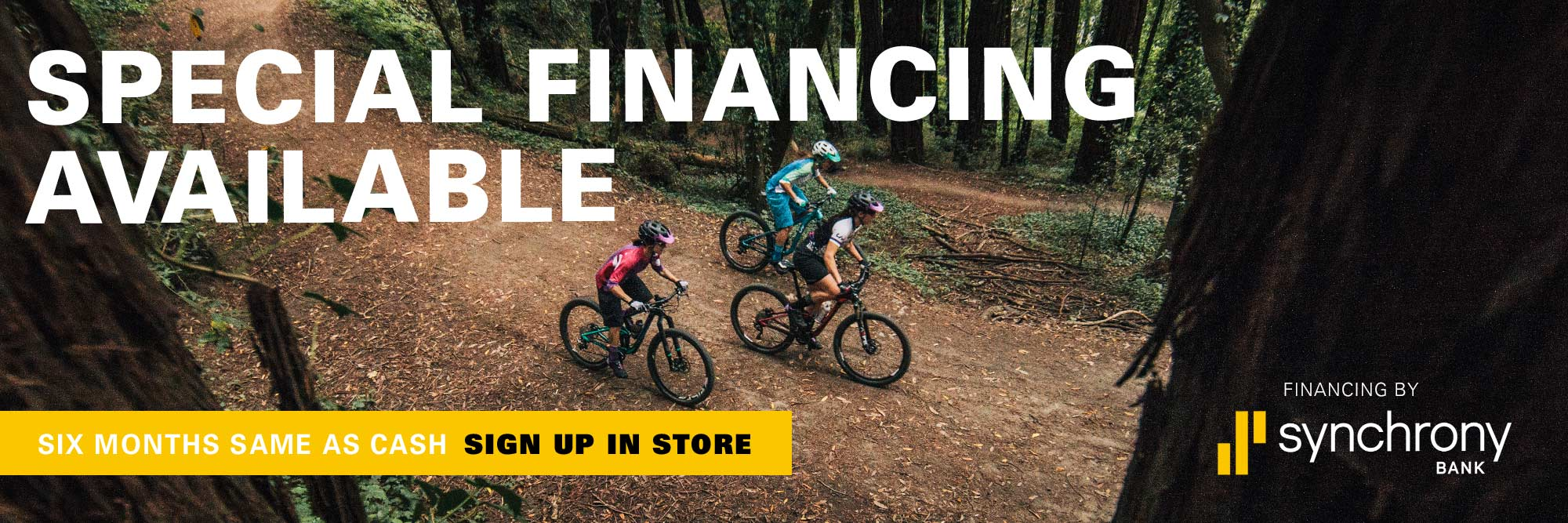Pearland Bicycles - Financing