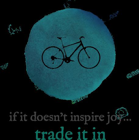 if it doesn't inspire joy... trade it in