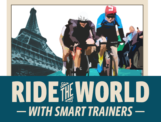 Ride the World With Smart Trainers