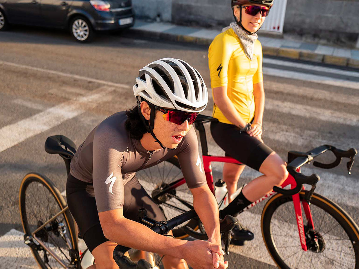 riders wearing helmets