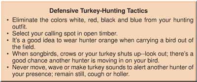 Be safe in the field with these turkey-hunting tips