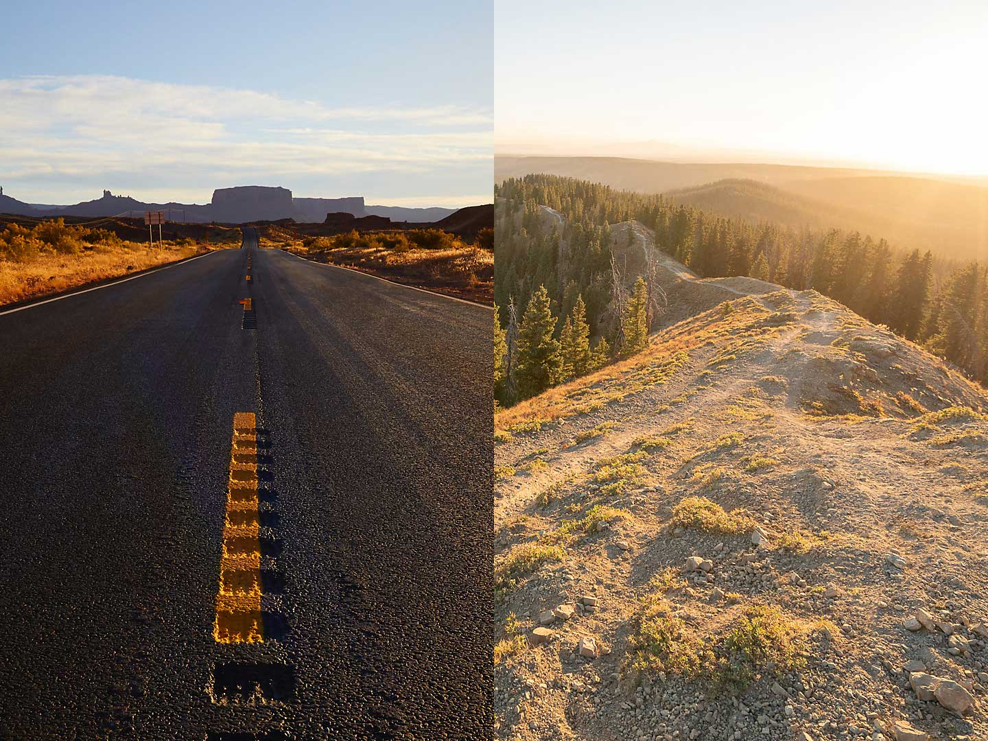 Road or Mountain