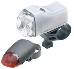 Avenir's Flashpoint Light Set makes night riding safe and fun!