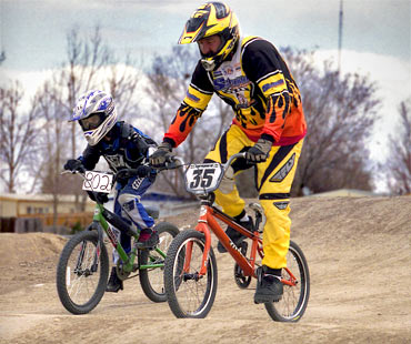 BMX bikes are a blast for all ages!