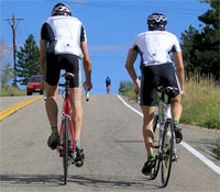 Ask a cycling friend what pedal system they prefer!