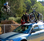 Roof-mount racks are incredibly versatile!