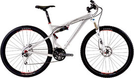 Try a 29er mountain bike soon!